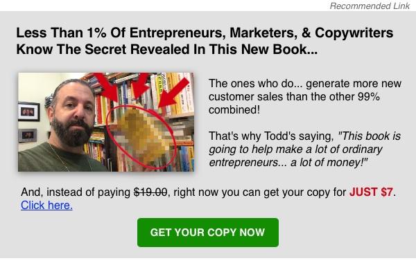Todd Brown Big Marketing Idea Book