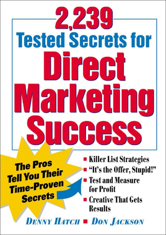 2239 Tested Secrets For Direct Marketing Success