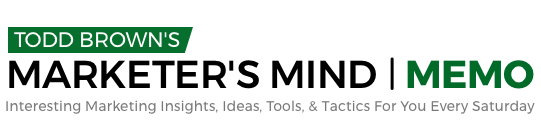 Marketer's Mind Memo – Issue #59