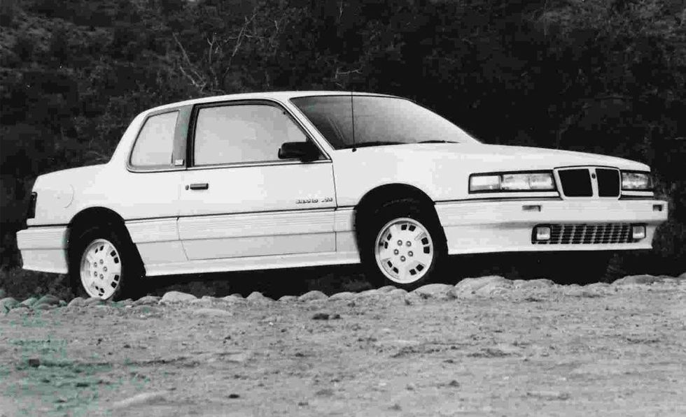 A picture of Todd Brown's first car