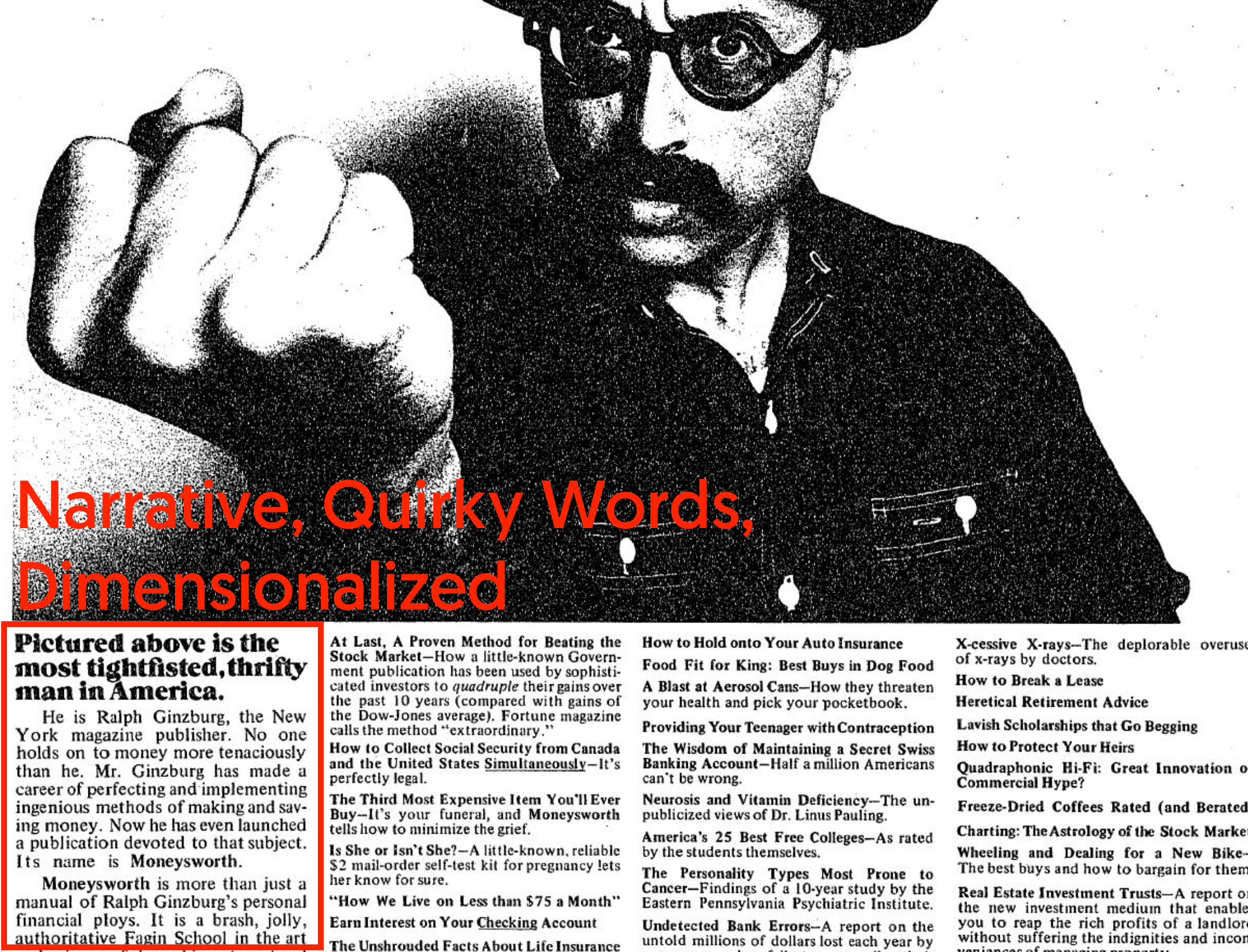 Ralph Ginsburg Swipe File