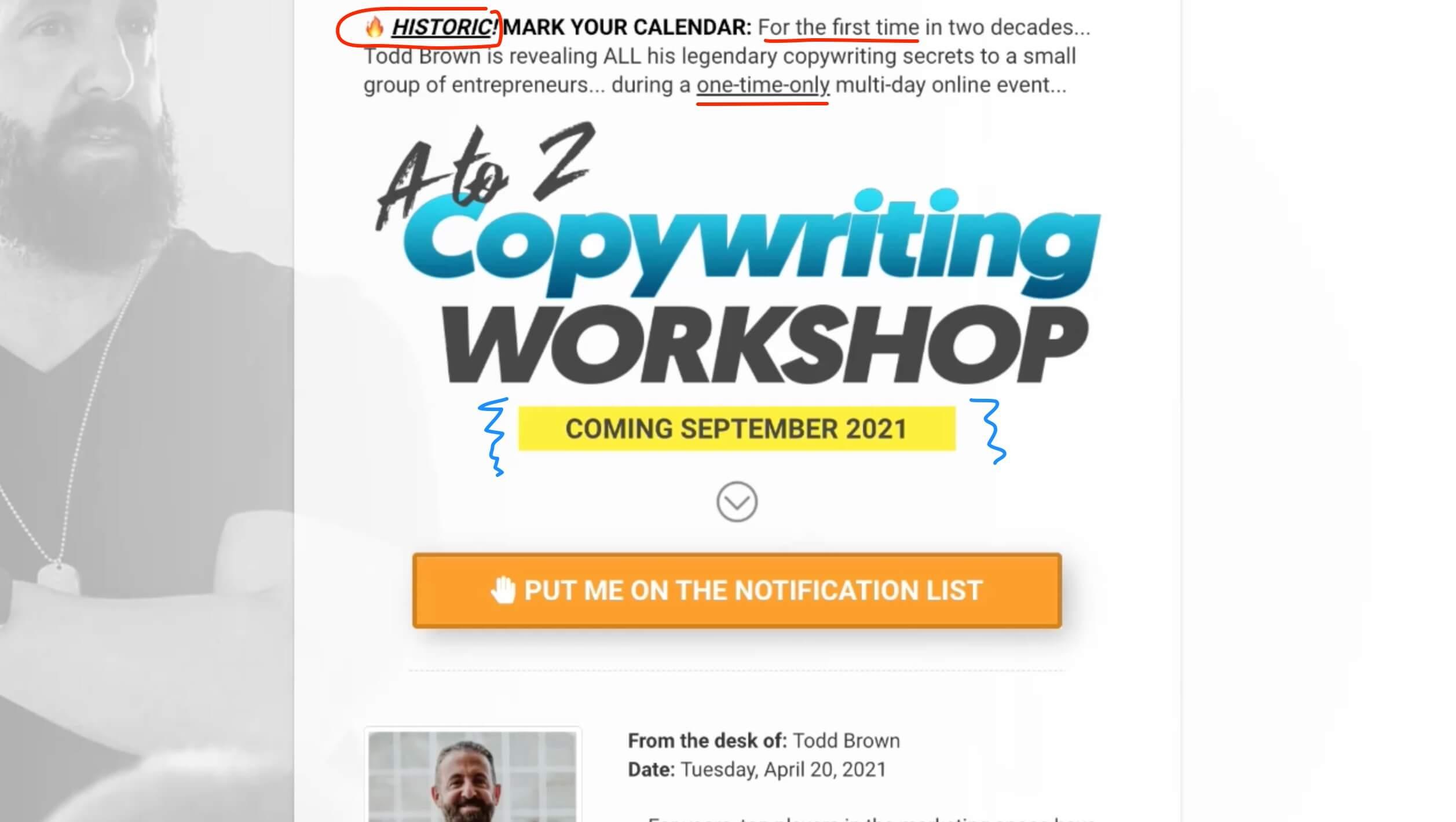 Todd Brown Marketing Training 42321