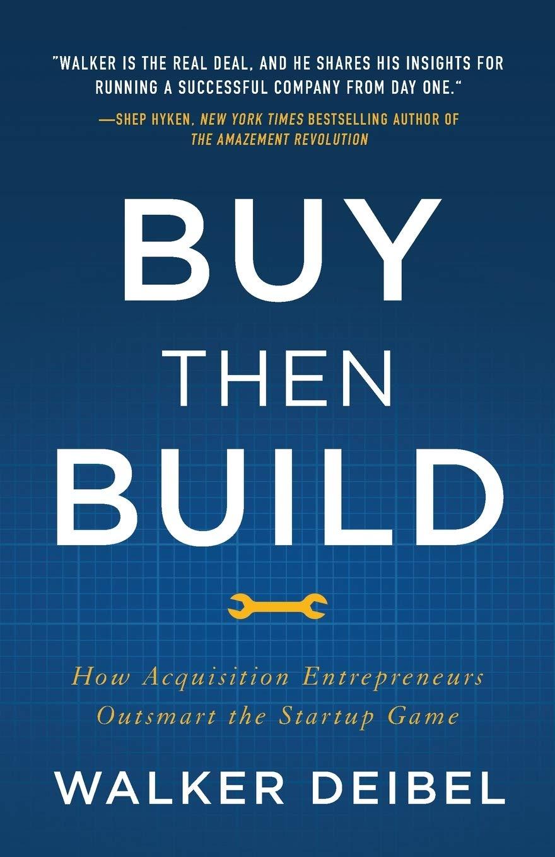 Buy Then Build Book