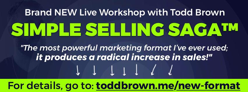 Simple Selling Saga Todd Brown