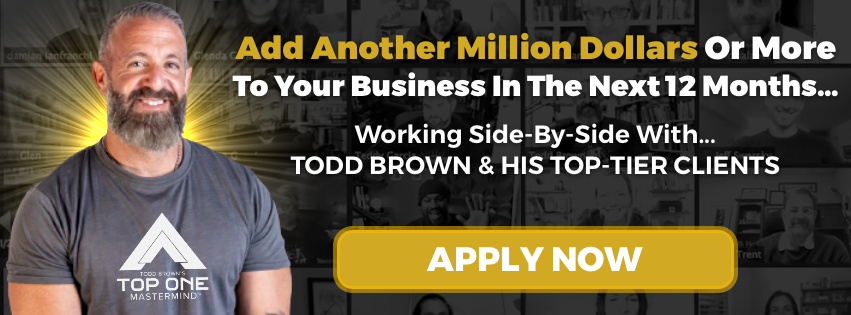 Todd Brown's Top One Mastermind