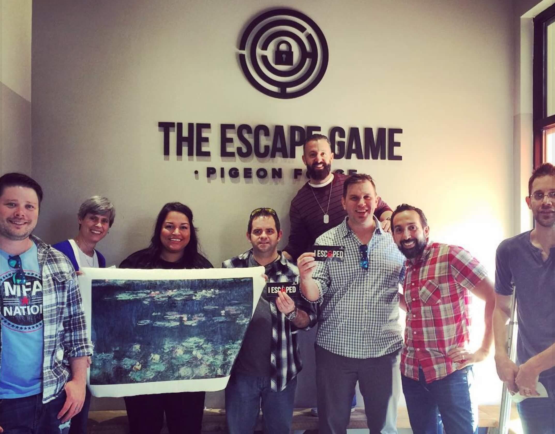 Todd Brown Marketing Team Escape Room