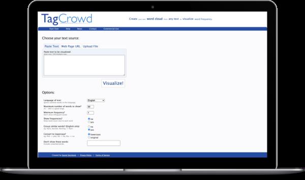 TagCrowd App
