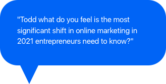 Marketing question for Todd Brown 82821